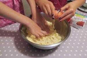 """C'est ça qu'on appelle une recette """"à 4 mains"""" !"""