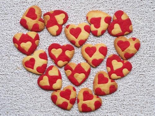 sablés coeur saint valentin