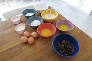 Recette marbré chocolat vanille