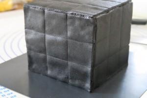 Gateau rubik's cube 13