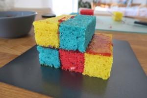 Gateau rubik's cube 5