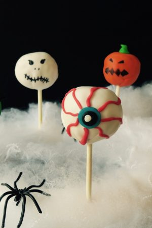 Booh - Des cake pops monstrueusement bons pour Halloween