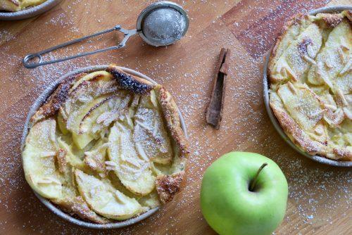 Clafoutis pomme citron