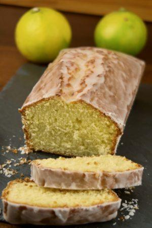 Un cake moelleux au délicat parfum de citron bergamote