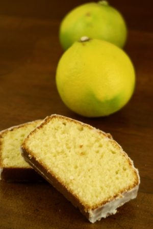 Cake citron bergamote