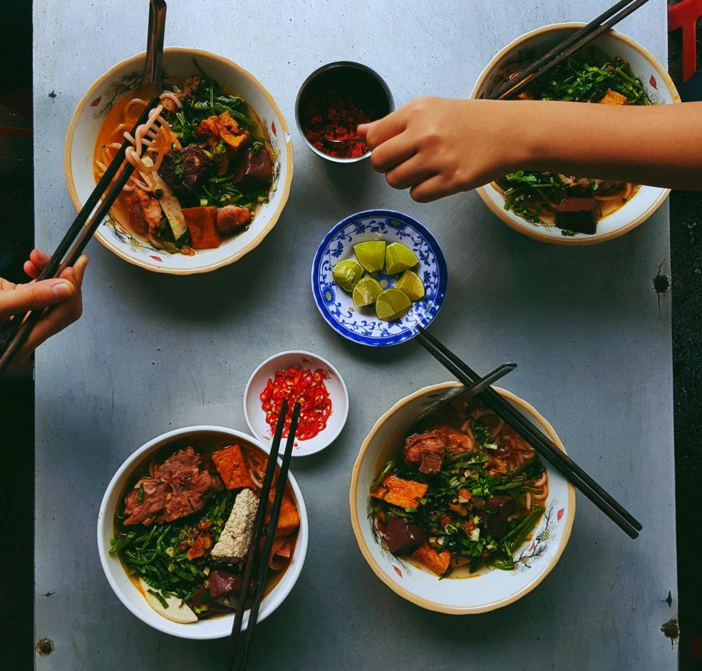 cuisine vietnamienne bun bo hue